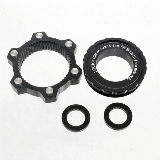 Center-Lock for 6-Hole,Center Lock Hub Boost Adapter,, 15x100 to 15x110, 12x142 to 12x148,