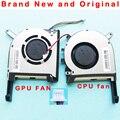 Новый оригинальный Процессор GPU ноутбук вентилятор охлаждения кулер для ASUS FX705 FX705G FX705GM FX86 FX86SM FX505 FX505D FX505DU FX95G FX95D FX96G