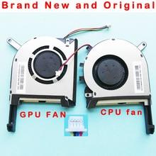 Original novo GPU CPU laptop refrigerador ventilador de refrigeração para ASUS FX705 FX705G FX705GM FX86 FX86SM FX505 FX505D FX505DU FX95G FX95D FX96G