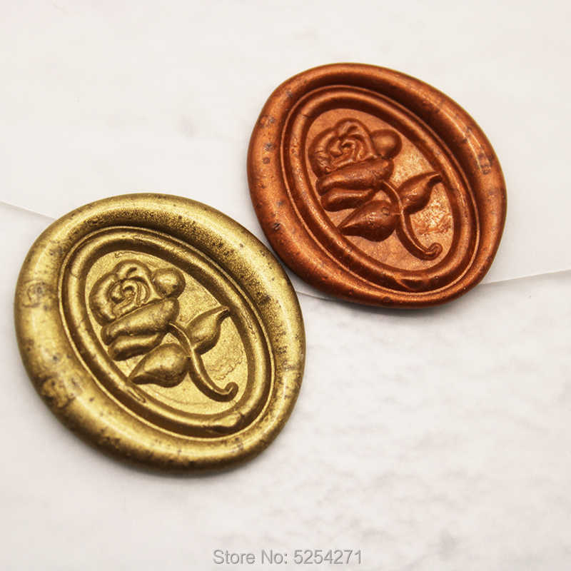 Rose in hand  wax seal stamphand with rose wax sealing kit rose flower  wax seal stamp rose  wax sealing kitplant  wax seal stamp