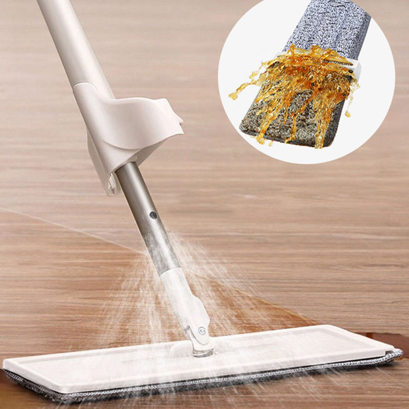multifunctional spray mop floor cleaner home cleaning mops microfiber flat mop house cleaning spray mops floor(China)