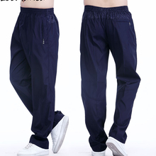 Summer Sport Mens Running Pants With Pockets Quickly Dry Male Active Joggers Sweatpants GYm Fitness Trousers Plus Size