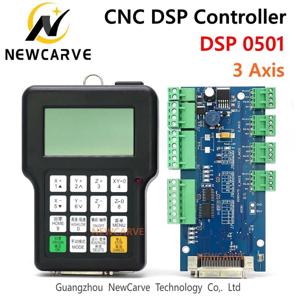 RZNC 0501 DSP Controller 3 Axis 0501 System For Cnc Router DSP0501 HKNC 0501HDDC Handle Remote English Version Manual NEWCARVE