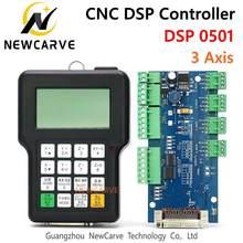 Controlador rznc 0501 dsp, 3 eixos 0501, sistema para cnc roteador dsp0501, hknc 0501, hddc, manuseio de versão em inglês newcarve