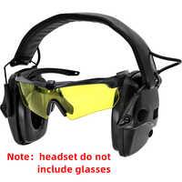 Taktik elektronische schießen ohrenschützer anti-lärm verstärkung jagd gehörschutz kopfhörer sightlines schwamm ohr pads