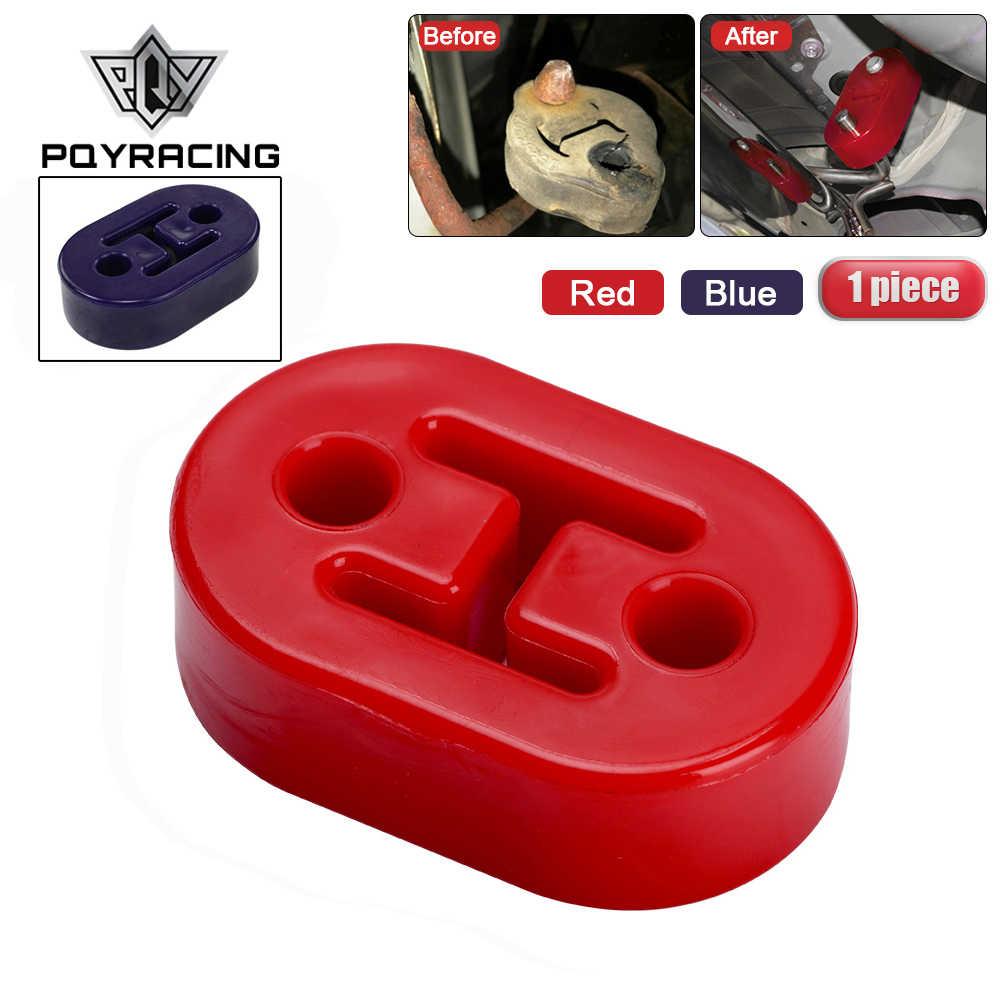 1 pièce polyuréthane échappement/silencieux cintres courts universel silencieux cintres rouge ou bleu PQY8952