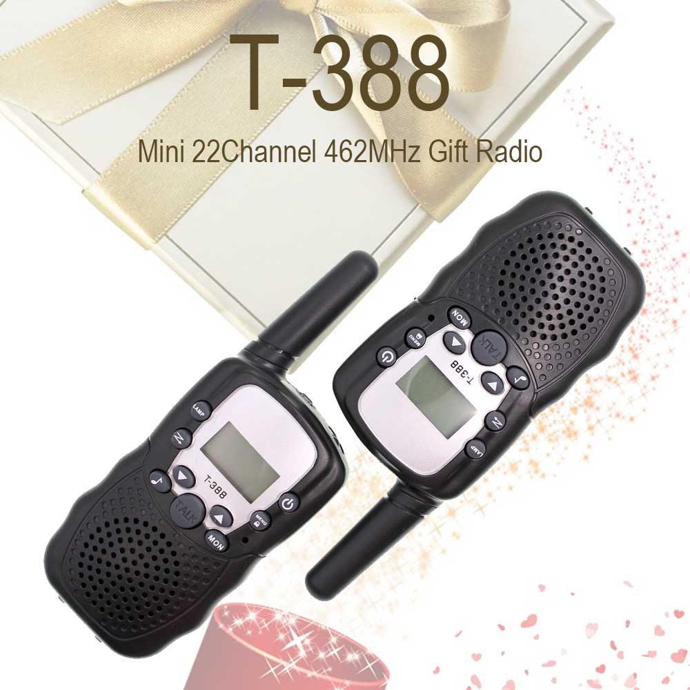 2 Pieces T388 RT388 Auto Multi-Channels 2-Way Radios Bellsouth Walkie Talkie T-388 Walkie Talkie For Kids