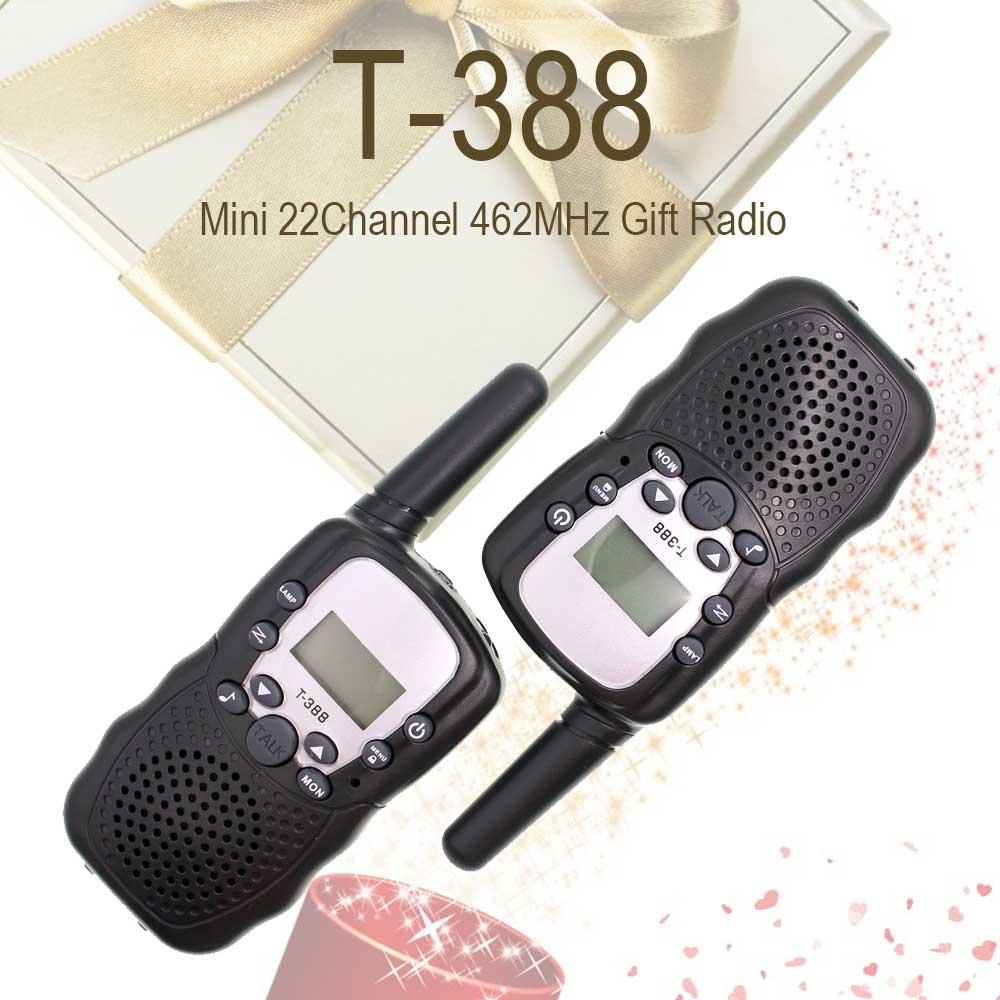 2 Pieces T388 RT388 Auto Multi-Channels 2-Way Radios Bellsouth Walkie Talkie T-388 Walkie Talkie For Kids