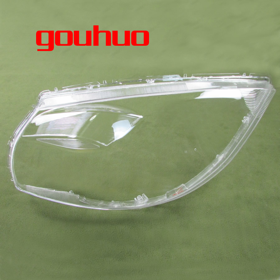 For Nissan Tiida 2008 2009 2010 Headlight Cover Headlamp Shell Glass Lens Lampshade Transparent Shade Mask