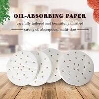 ITOP 150mm Oil Absorbing Paper 400pcs/Set Suitable For 150mm Hamburger Press Machine Food Grade Material Burger Patty Paper