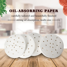 ITOP 150mm Oil Absorbing Paper 400pcs/Set Suitable For Hamburger Press Machine Food Grade Material Burger Patty