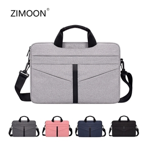 Image 1 - Universal Laptop Bag 13 14 15 inch Notebook Bag Laptop Messenger Computer Shoulder Bag Briefcase Case Cover for Macbook HP DELL