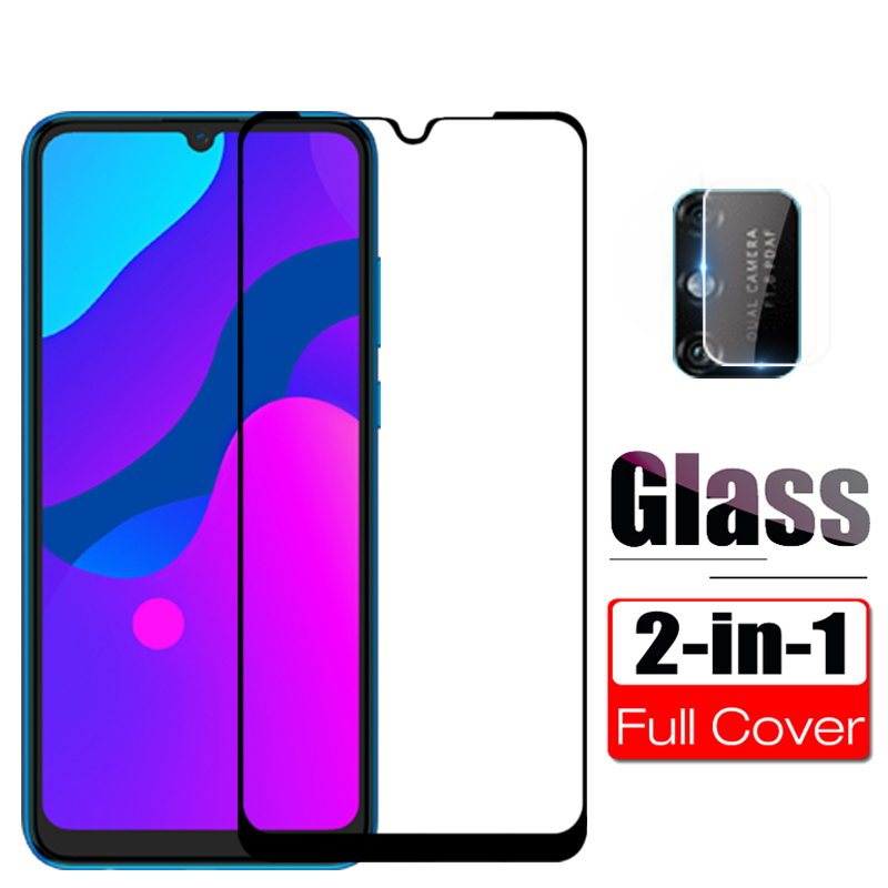 2 In 1 Protective Glass For Honor 9A Camera Glass Protector For Huawei Honor 9A MOA-LX9N 9 A Honor9A 6.3 Safety Clear Front Film