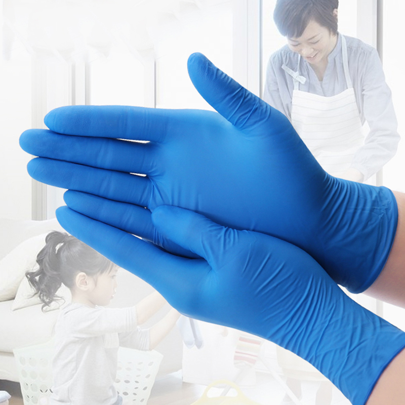 20 PCS Disposable <font><b>Gloves</b></font> <font><b>Medical</b></font> <font><b>Gloves</b></font> Rubber <font><b>Latex</b></font> <font><b>Gloves</b></font> for Home Food/Rubber/Garden <font><b>Gloves</b></font> Universal For Left and Right Hand image
