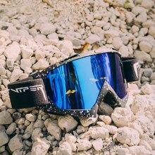 PIT VIPER Men Women Double Layers Ski Goggles Snow Snowboard Anti-fog Eyewear Snowmobile Mask UV400 Glasses Motocross Goggles