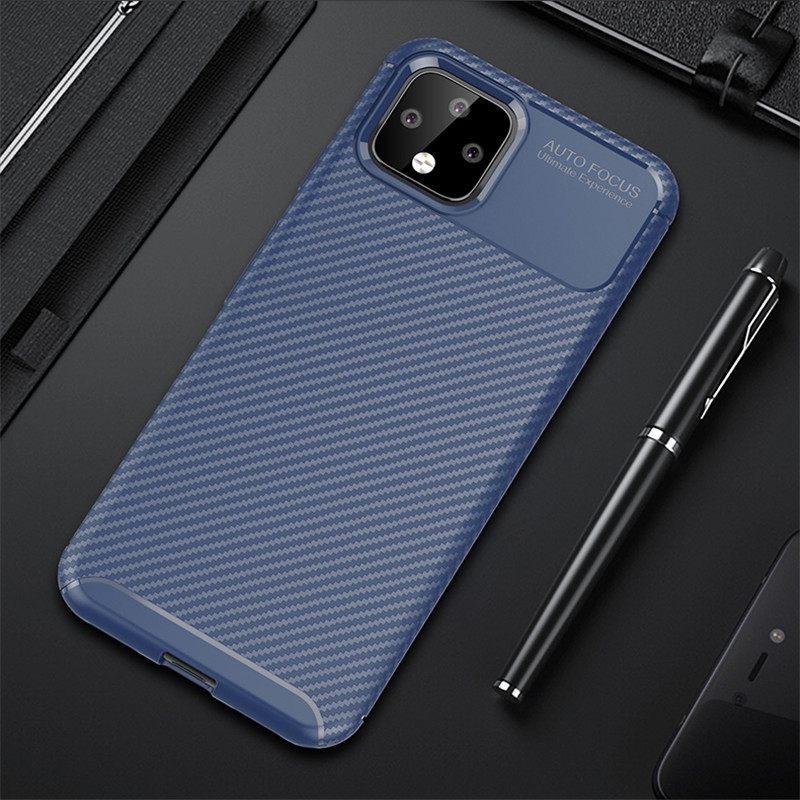 For Google Pixel 3A Xl 3AXL 4XL Case Brushed TPU Silicone Protective Back Cover Shockproof For Pixel 4A 4 XL Phone Cases