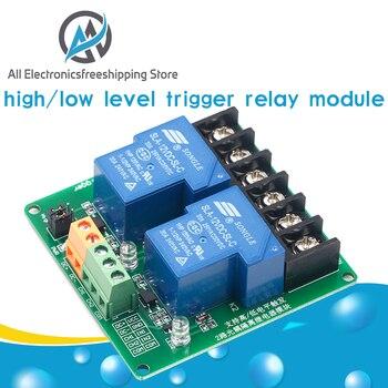 Módulo de relé de 2 vías, 30A, alto y bajo, activador por flanco, 5V, control de automatización del hogar inteligente 1