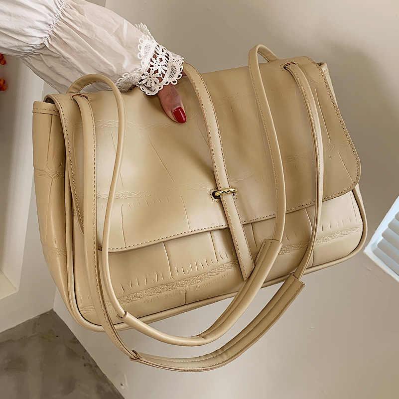 Летняя вместительная сумка на плечо для женщин, новинка otali.ru, модная Ретро сумка-мессенджер, Женская Высококачественная Портативная Сумка-тоут для женщин