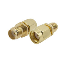 ALLiSHOP RF SMA Stecker SMA Buchse auf RP SMA Stecker Stecker Adapter Vergoldet Gerade Koaxial RF-Adapter(China)