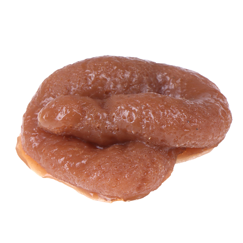 1 Pc Funny Realistic Sticky Mischief Turd Gag Shits Poop Fake Feces Turd Classic Shit Practical Gag Joke Gadget Toy