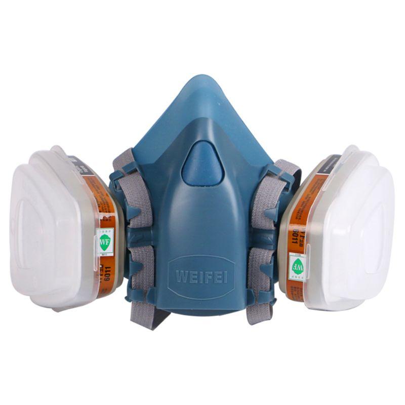 Full Facemask Respirator Painting Spraying Face Gas Mask 5N11 501 For 3M 7502 6001
