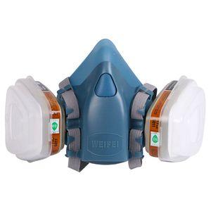 Máscara de gás para pintura com respirador, peça completa para pintura com respirador 5n11 501 para 3m 7502 6001