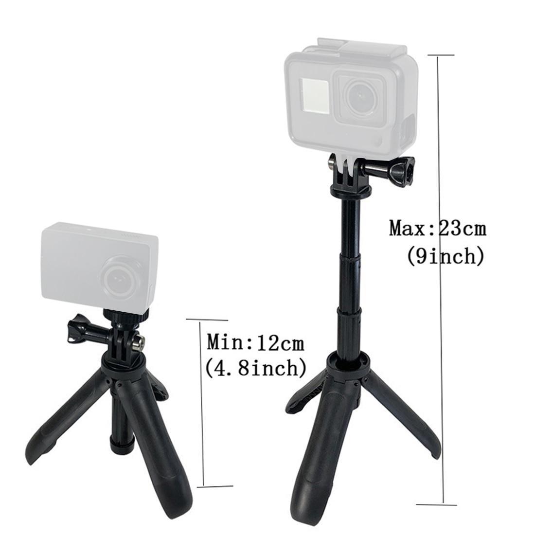 Mini Protable Tripod Extension Pole Handheld Monopod Pole Hand Grip Selfie Stick Mount for Gopro Hero 8 7 YI Osmo Action Camera-2