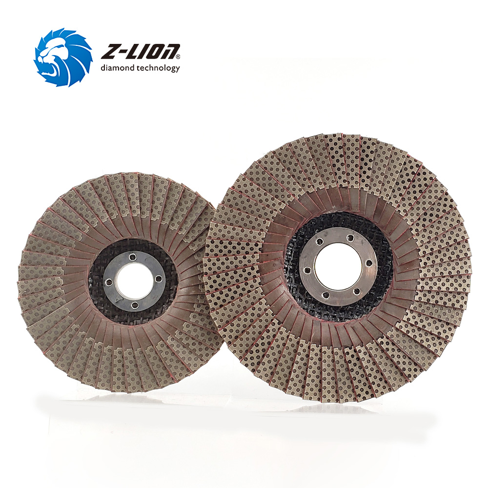 "4/"" Flap Disc Electroplated Diamond Grinding Disc Grit 400 Wheel Sanding Disc"