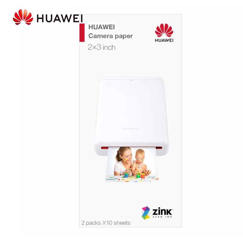Original Huawei AR Portable Photo Pocket Zink Printer DIY Share Paper Bluetooth 4.1 20 Per Pack