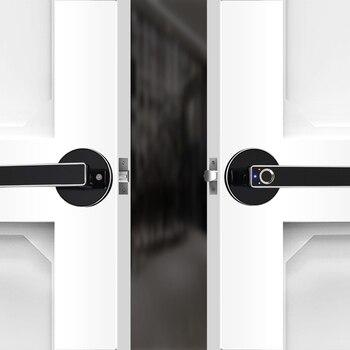 Smart Door Lock Home Keyless Lock Smart Fingerprint Biometric Electronic Lock for Home and Office