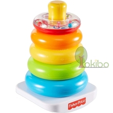 Baby Toys Stacking-Rings Toddlers 6-12-Months Rainbow for Brinquedos Para Bebe Early-Development-Toys