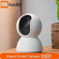 New Original Xiaomi MI Mijia Cameras 1080P Smart Camera IP Cam Webcam Camcorder 360 Angle wifi Wireless Night Vision For Mi home