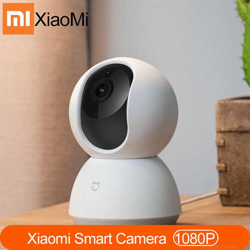 ¡Nuevo y Original! Cámaras Xiaomi MI Mijia 1080P, cámara inteligente IP, cámara web, videocámara, ángulo 360, wifi, visión nocturna inalámbrica para Mi hogar