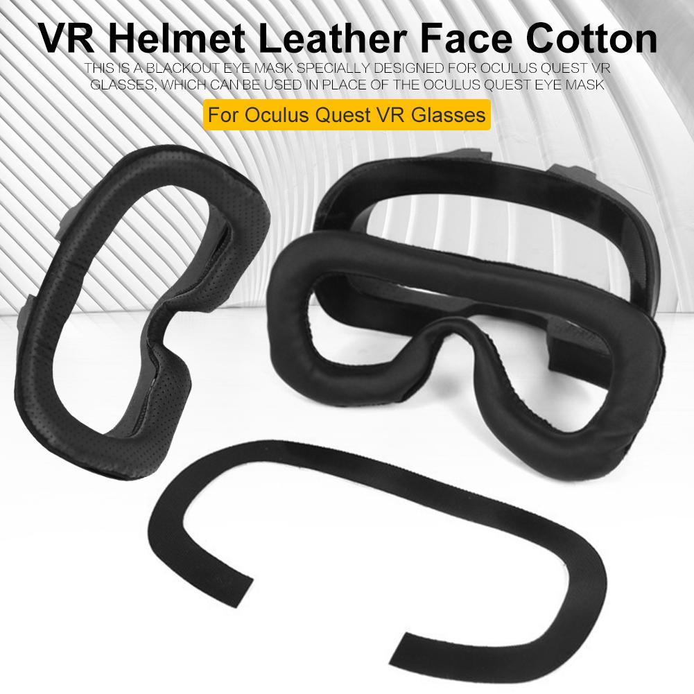Face Cushion Eye Mask Replacement Face Cover Pad Multi-function Mask Breathable Design Blackouts For Oculus Quest