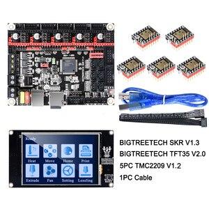 Image 1 - BIGTREETECH SKR V1.3 Scheda di Controllo 32Bit Smoothieboard + TMC2209 V1.2 UART + TFT35 V2.0 3D Parti Della Stampante vs tmc2208 tmc2130 MKS Gen