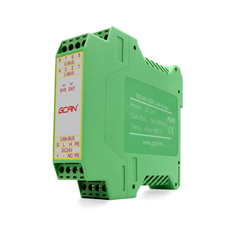 CAN-Bus communication relay module CAN bus repeater CAN network data forwarding to each other With two CAN-Bus channel. can network expansion can isolation repeater series 2 galvanic isolation can bus interface