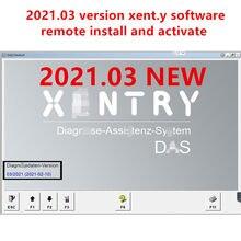 2021.03 mb estrela xentry das software de diagnóstico para c4/c5/c6 remoto instalar e ativar mb estrela sd c4/c5/c6 software