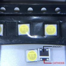 Diode Beads 1000PCS עבור LCD טלוויזיה תיקון LG led טלוויזיה תאורה אחורית רצועת אורות עם אור דיודה מגניב לבן 3535 SMD LED חרוזים 6V