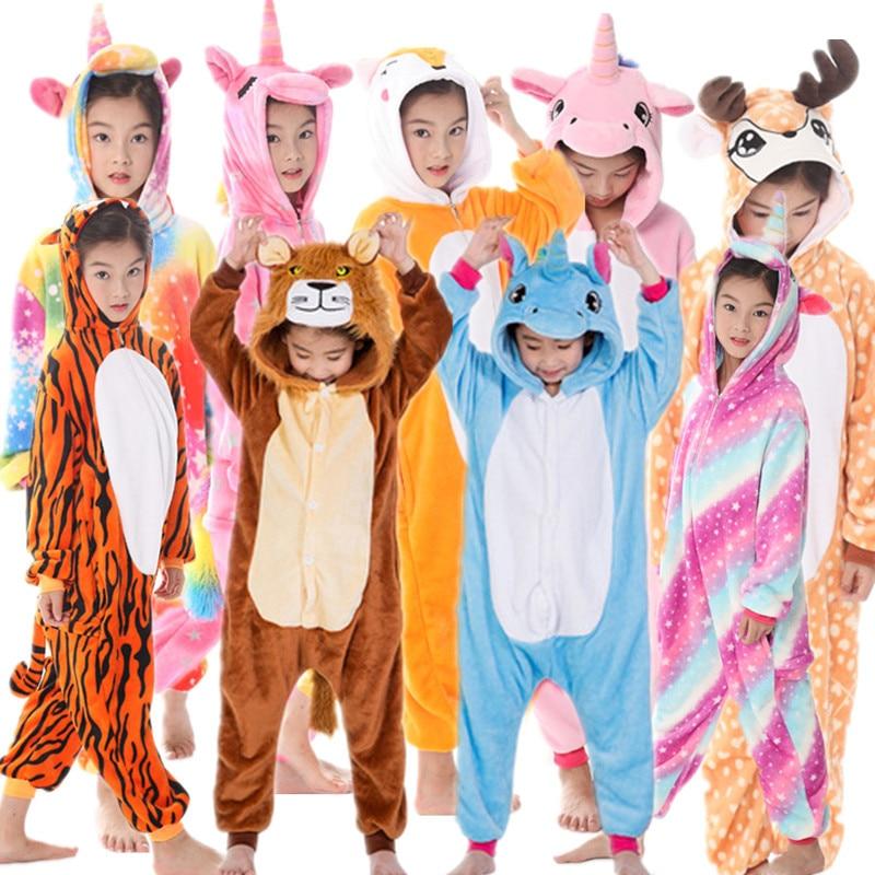 criancas unicornio pijamas infantil criancas unicornio quente arco iris pijama meninos roupas da menina do bebe