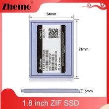 Zheino 1,8 ''ZIF удовлетворяющий стандартам ЕС/40 штифтов SSD 32 Гб 64 Гб 128 MLC SMI управления 5 мм твердотельный жесткий диск