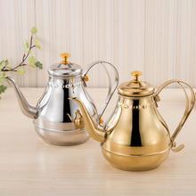 1.2L нержавеющая сталь гусиная шея для кофе чай фильтр для чайника ситечко горшок прочный гусиная шея с ситечком