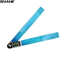 Portable 200/300 mm Digital Protractor Inclinometer Electronic Goniometer Digital Angle Finder Meter Stainless Steel Angle Ruler