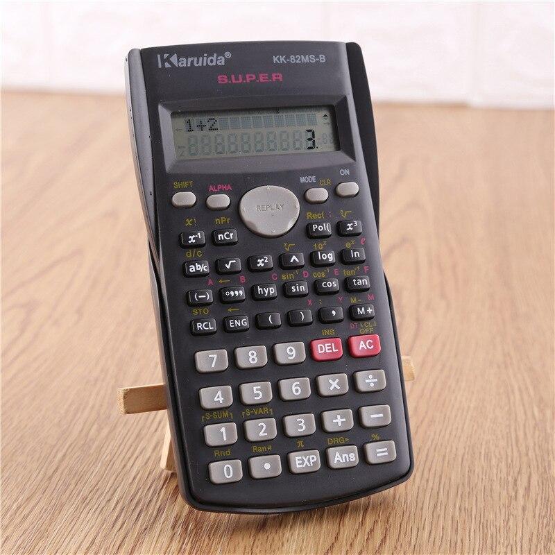 Новый портативный научный калькулятор канцелярские принадлежности для школы и офиса Многофункциональный инженерный научный инструмент д...