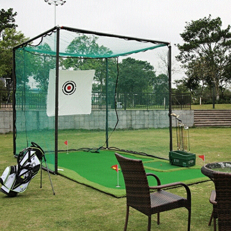 Standard Wind-proof Golf Practice Hit Cloth Target Cloth Anti-Play Good Sound Long Life Golf Practice Net