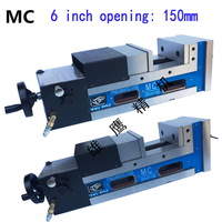 MC pneumatic vise 6 inch CNC computer pneumatic clamps right angle vise 90 degrees milling precision vise
