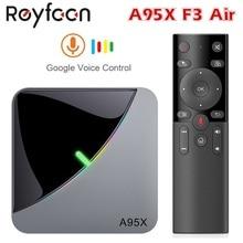 Android 9.0 RGB Light Smart TV Box Amlogic S905X3 USB3.0 1080P H.265 4K 60fps Wifi Google Player Youtube A95X F3 Air 8K TVBOX