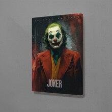 Joker, киноплакат, Joaquin Phoenix, настенный арт, холст, украшение, плакаты, принты для гостиной, дома, декоративная картина для спальни