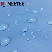 Meetee – tissu PVC Pu imperméable 100x150cm 190T, pour bricolage, tablier, manches, vêtements pour animaux de compagnie, couture, parapluie, accessoire FA012