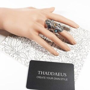 Image 5 - خاتم الحلي العرقية ، مجوهرات أنيقة بأوروبا جيدة للنساء ، هدية جديدة لربيع 2020 بوهيمي في 925 من الفضة الإسترليني ، عروض رائعة
