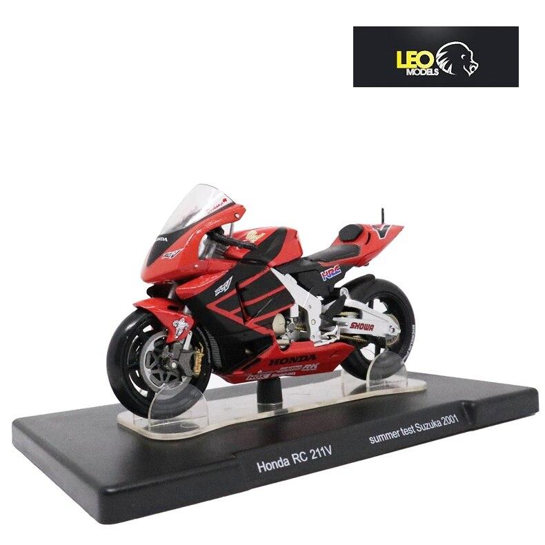 LEO Models 1/18 Honda NSR500 Test Valencia 2000 Yamaha YZR Ducati Desmosedici GP12 Aprilia RSW250 Test Jerez 1999 GP125 WC1995